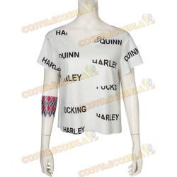 Costume Cosplay Harley Quinn Birds of Prey con t-shirt