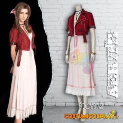 Costume Cosplay Aerith Gainsborough Final Fantasy VII