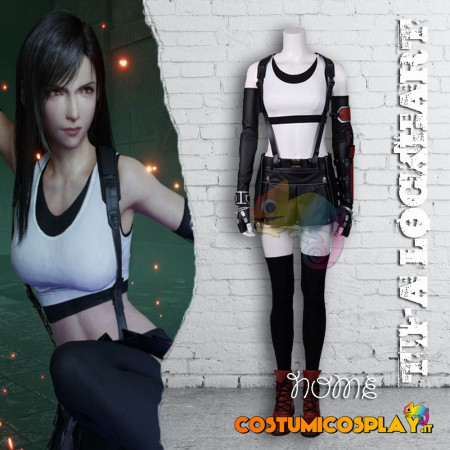 Costume Cosplay Tifa Lockhart Final Fantasy VII