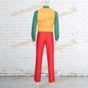 Costume Cosplay Joker completo rosso