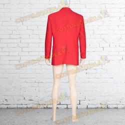 Costume Cosplay Joker completo rosso