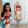 Costume Cosplay Vaiana