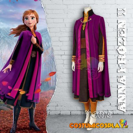 Costume Cosplay Anna Frozen II