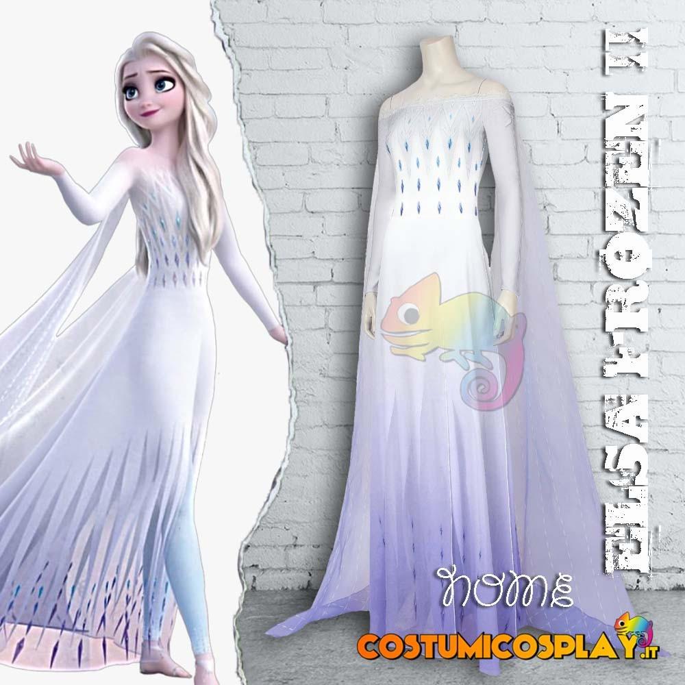Costume Cosplay Elsa tratto da Frozen II