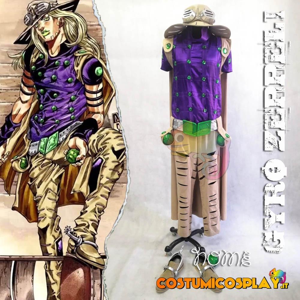 Costume Cosplay Gyro Zeppeli