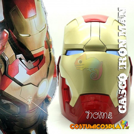 Casco cosplay Iron Man Mark 42