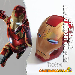 Casco cosplay Iron Man Mark 43