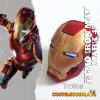 Casco cosplay Iron Man Mark 43