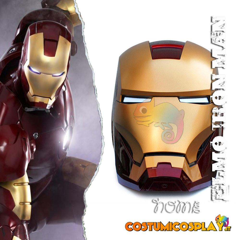 Casco cosplay Iron Man Avengers Endgame