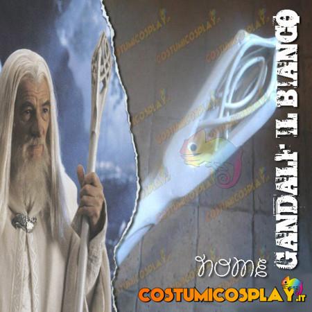 Bastone cosplay Gandalf il Bianco - Signore degli Anelli