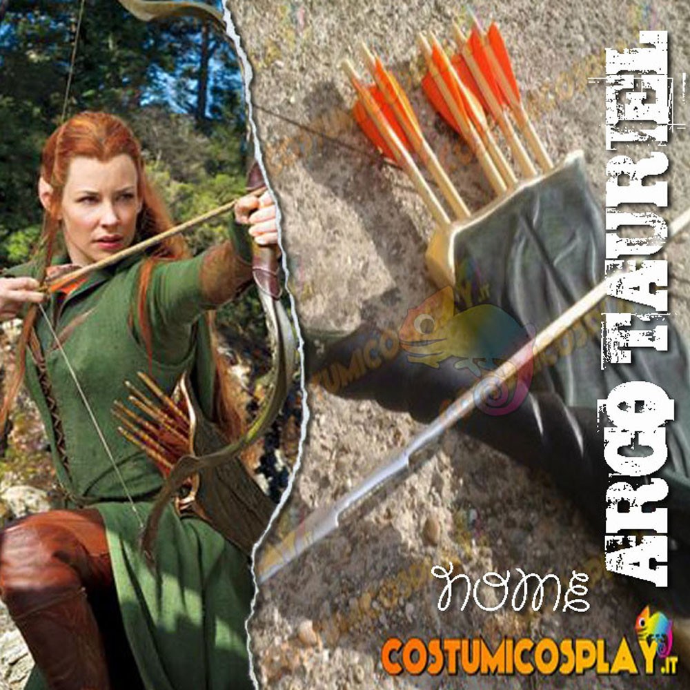 Arco e feretra cosplay Tauriel - Lo