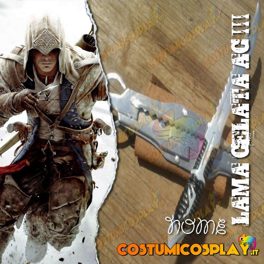 Lama celata cosplay Connor - Assassin's
