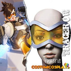 Accessorio cosplay occhiali Tracer Overwatch