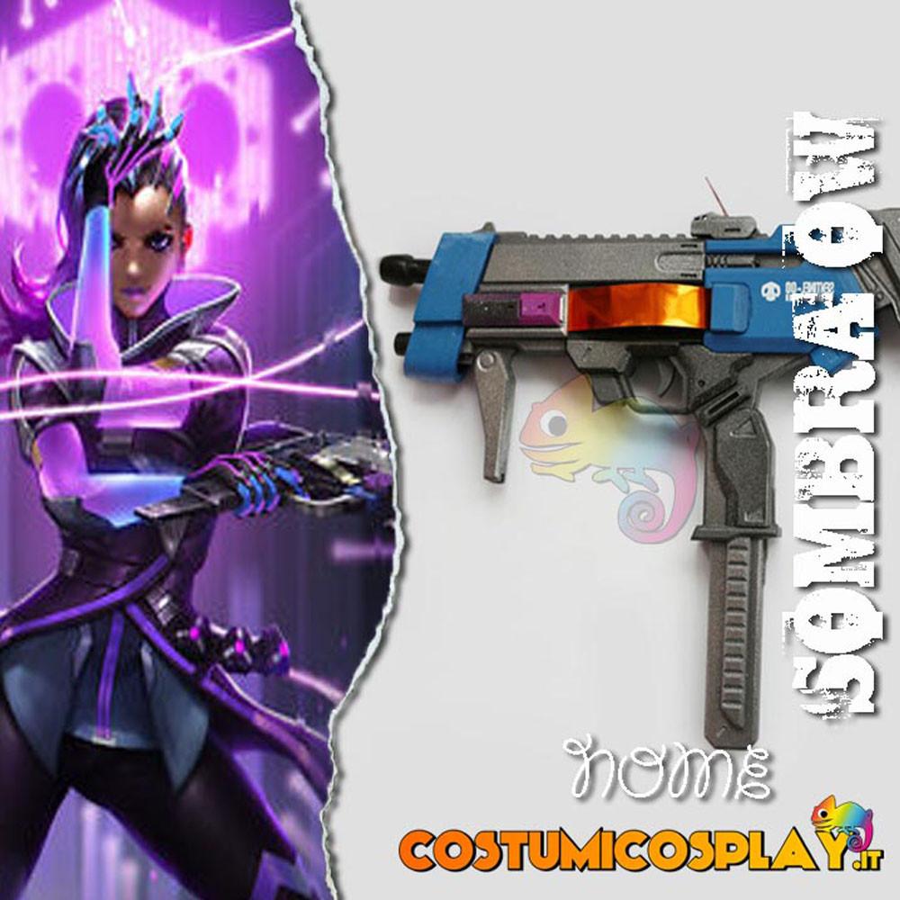 Accessorio cosplay pistola Sombra