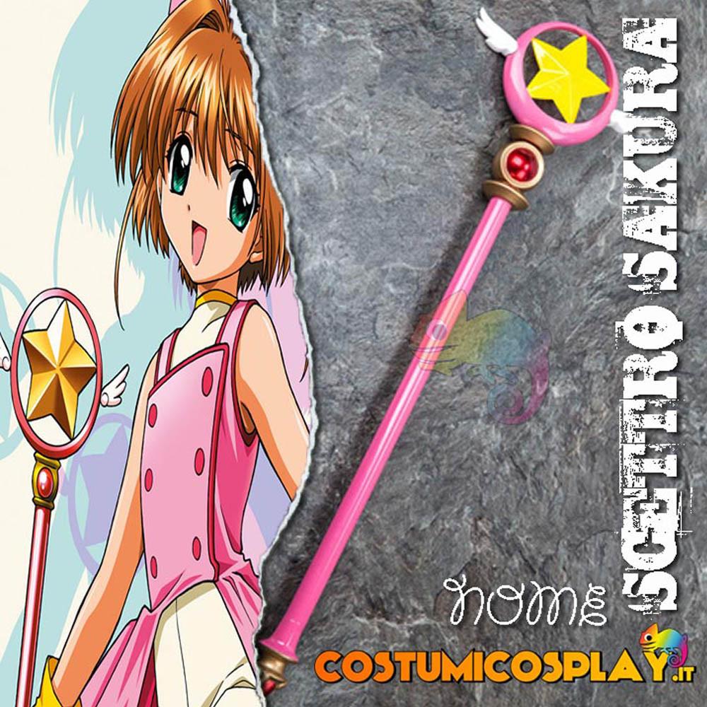 Accessorio cosplay scettro Sakura Card