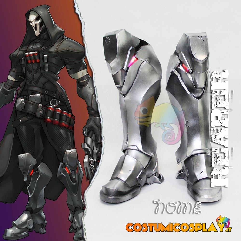 Scarpe cosplay Reaper da Overwatch