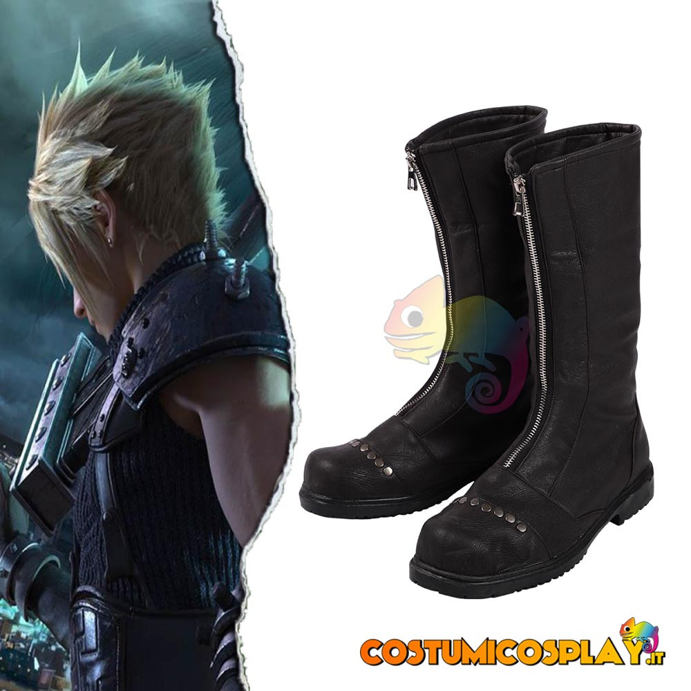 Stivali cosplay Cloud da Final Fantasy