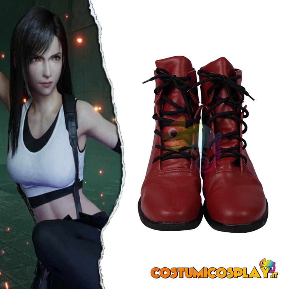 Scarpe cosplay Tifa da Final Fantasy VII