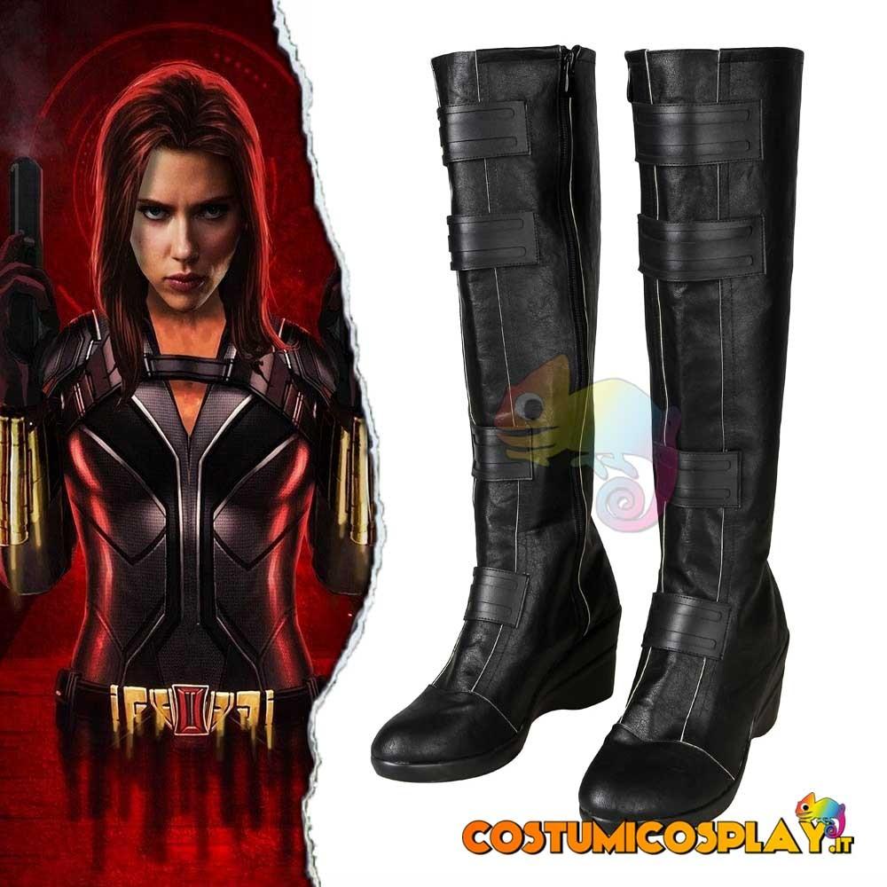 Stivali cosplay Natasha Romanoff Black