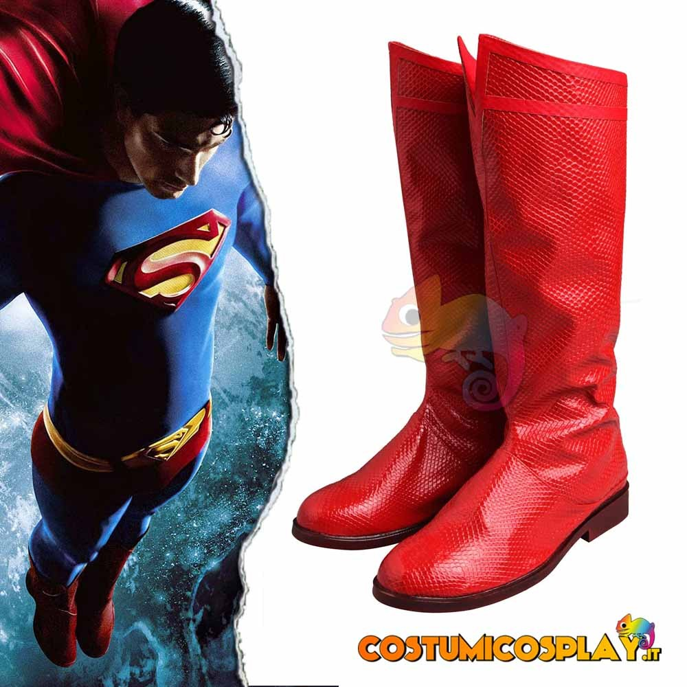 Stivali cosplay Superman