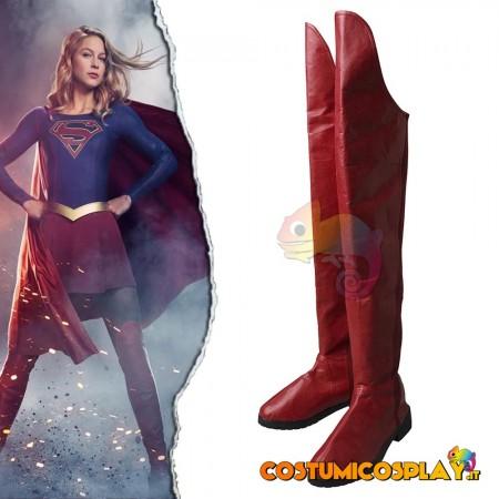 Stivali cosplay Supergirl