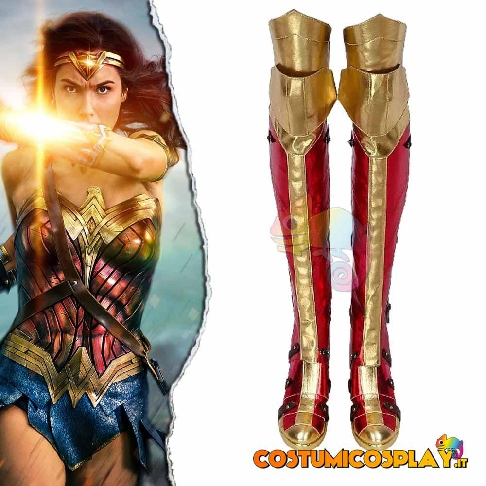 Stivali cosplay Wonder Woman