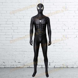 Costume tuta Cosplay Black Spider Man