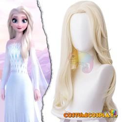 Parrucca cosplay Elsa...