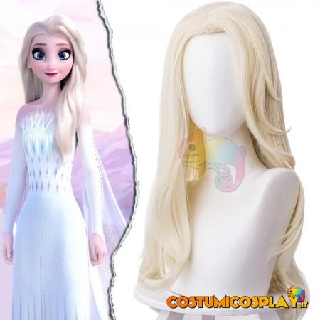 Parrucca cosplay Elsa Frozen II