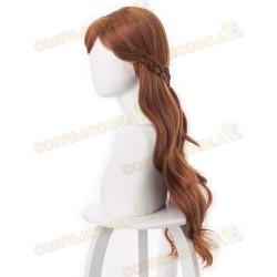 Parrucca cosplay Anna Frozen II