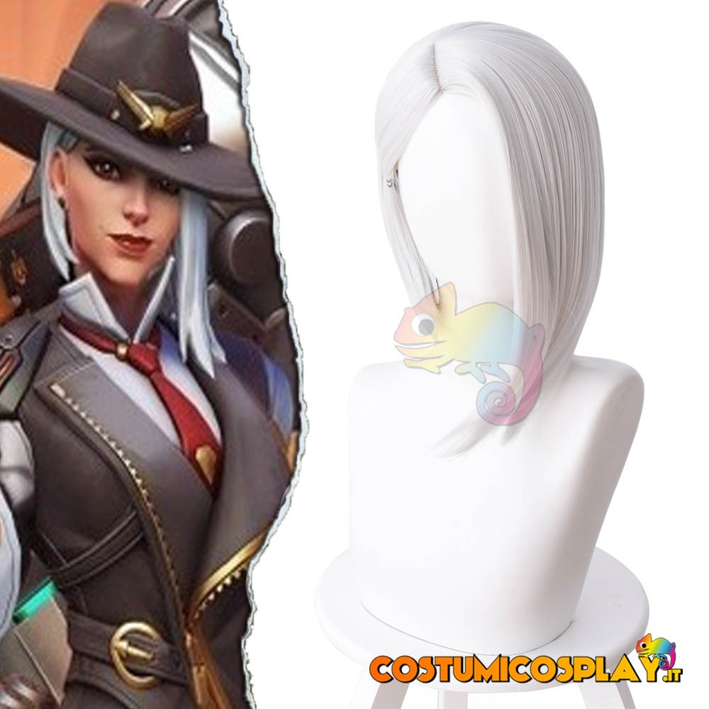 Parrucca cosplay Ashe da Overwatch