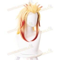 Parrucca cosplay Rengoku Kyoujurou Demon Slayer