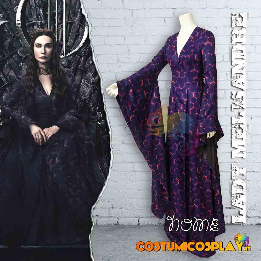 Costume Cosplay Lady Melisandre