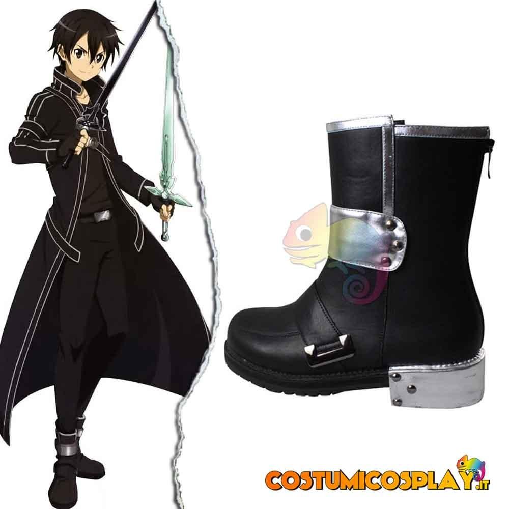 Scarpe cosplay Kirito Sword Art online