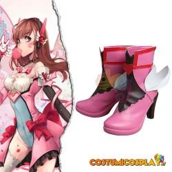 Scarpe cosplay D.va Overwatch