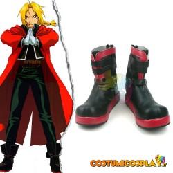 Scarpe cosplay Edward Elric...
