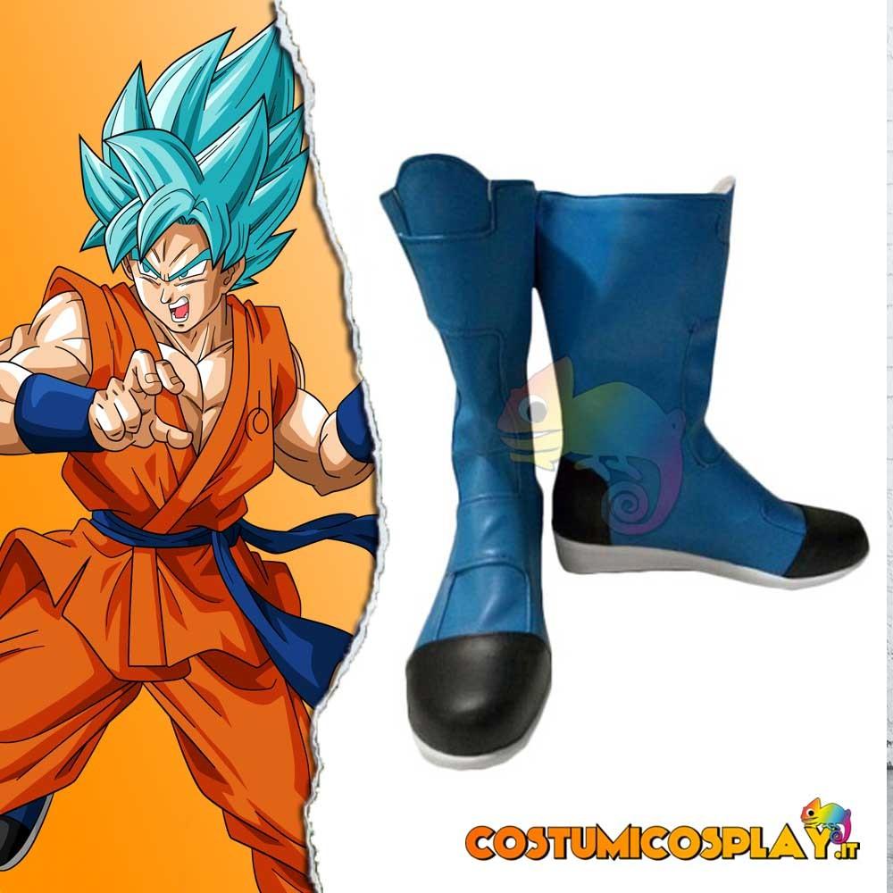 Scarpe cosplay Goku Dragon ball Super