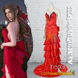 Costume Cosplay Aerith...