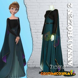 Costume cosplay Anna Frozen 2