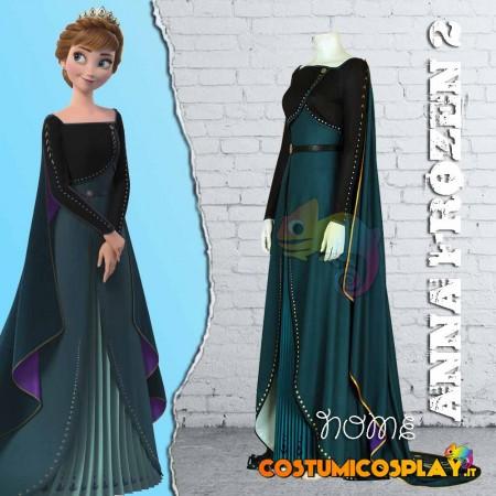 Costume cosplay Anna Frozen 2