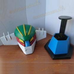 Casco cosplay Jeeg Robot d' Acciaio