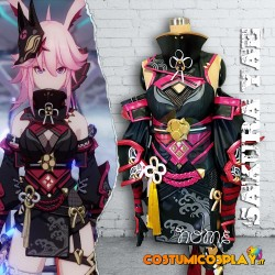 Costume cosplay Sakura Yae Darkbolt