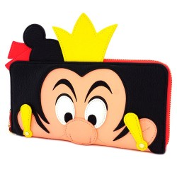 Portafoglio da donna Regina di Cuori Disney Alice nel Paese delle Meraviglie