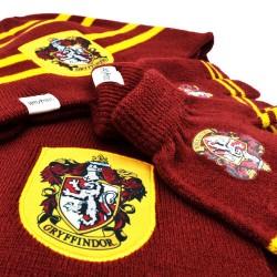 Cappello guanti e sciarpa da bimbo Grifondoro Harry Potter