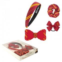 Set di accessori per capelli Grifondoro Harry Potter