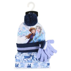 Set cappello con guanti e scaldacollo Frozen 2
