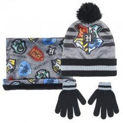 Set cappello con guanti e...