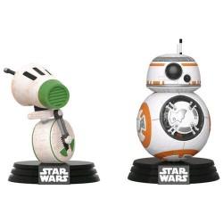 Set 2 figure POP! Star Wars Rise of Skywalker D-O e BB-8 Exclusive
