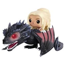 Figura Pop! Daenerys & Drogon 18 cm Game of Thrones